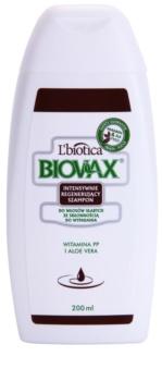 L'biotica Biovax Falling Hair champô reforçador anti-queda