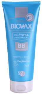 L'biotica Biovax Keratin & Silk après-shampoing à la kératine pour des cheveux faciles à démêler
