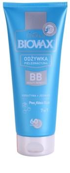 L'biotica Biovax Keratin & Silk kondicionér s keratinem pro snadné rozčesání vlasů
