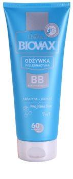 L'biotica Biovax Keratin & Silk regenerator s keratinom za jednostavno raščešljavanje kose