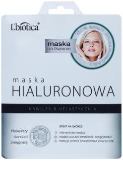 L'biotica Masks Hyaluronic Acid masque tissu hydratant et lissant