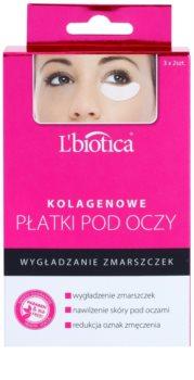 L'biotica Masks maska kolagenowa do okolic oczu o działaniu przeciwzmarszczkowym