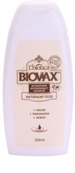 L'biotica L'biotica Biovax Natural Oil champú regenerador para aportar hidratación y brillo