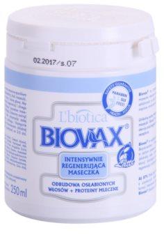 L'biotica Biovax Weak Hair mascarilla fortalecedora para cabello débil