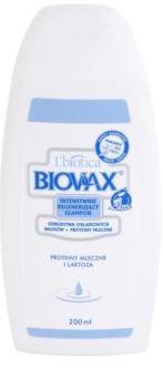 L'biotica Biovax Weak Hair champô nutritivo para cabelo enfraquecido