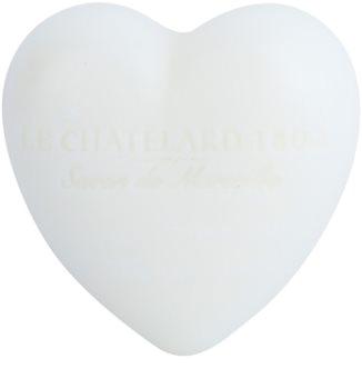Le Chatelard 1802 Jasmine & Musk sabonete em forma de coração