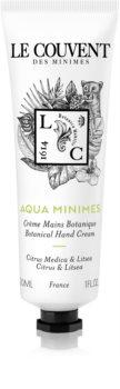 Le Couvent Maison de Parfum Botaniques  Aqua Minimes krem do rąk unisex