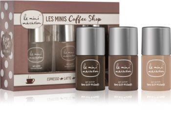 Le Mini Macaron Les Minis Coffee Shop косметичний набір III. (для нігтів) для жінок
