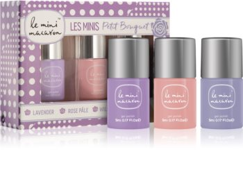 Le Mini Macaron Les Minis Petit Bouquet Cosmetic Set II. (for Nails) for Women
