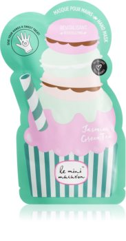 Le Mini Macaron Jasmine Green Tea Revitalizing Mask for Hands