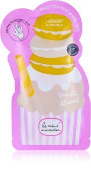 Le Mini Macaron Vanilla Almond ενυδατική μάσκα για τα χέρια