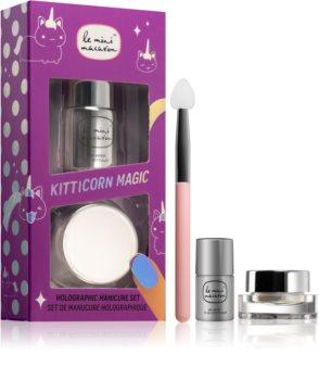 Le Mini Macaron Kitticorn Magic coffret cosmétique XI. (ongles) pour femme