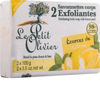 Le Petit Olivier Lemon sapone esfoliante