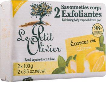 Le Petit Olivier Lemon savon exfoliant