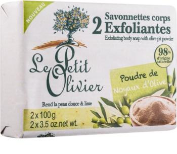 Le Petit Olivier Olive Peelingseife