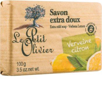 Le Petit Olivier Verbena & Lemon Ekstramild sæbe