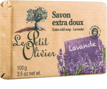 Le Petit Olivier Lavender Ekstramild sæbe