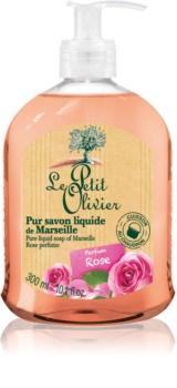 Le Petit Olivier Rose sapone liquido