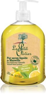 Le Petit Olivier Verbena & Lemon sapone liquido