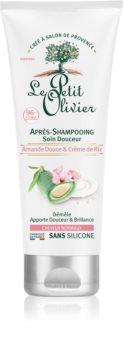 Le Petit Olivier Sweet Almond & Rice Cream kondicionér pre normálne vlasy