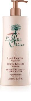 Le Petit Olivier Shea Butter Ultra Feuchtigkeit spendende Körperlotion