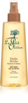 Le Petit Olivier Shea Butter olio secco per capelli e corpo
