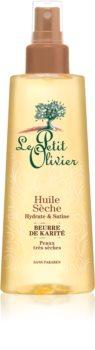 Le Petit Olivier Shea Butter Trockenöl für Haar und Körper