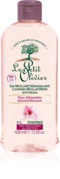 Le Petit Olivier Almond Blossom reinigendes Mizellenwasser