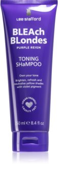 Lee Stafford Bleach Blondes šampon pro blond vlasy neutralizující žluté tóny