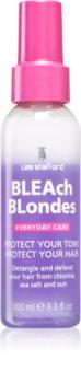 Lee Stafford Bleach Blondes fényvédő spray a szőke és melírozott hajra