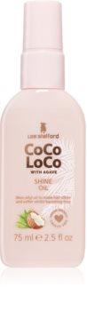 Lee Stafford CoCo LoCo ápoló olaj a fénylő és selymes hajért