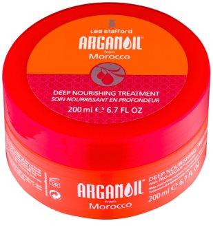 Lee Stafford Argan Oil from Morocco masca hranitoare pentru netezirea parului