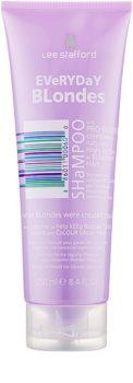 Lee Stafford Bleach Blondes shampoo per tutti i tipi di capelli biondi