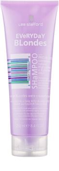 Lee Stafford Bleach Blondes шампунь для всех типов светлых волос