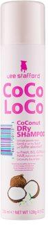 Lee Stafford CoCo LoCo száraz sampon a  felesleges faggyú felszívódásáért és a haj frissítéséért