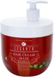 Leganza Hair Care mascarilla textura crema con aceite de argán
