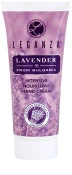 Leganza Lavender crema hidratante intensiva para manos