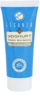 Leganza Yoghurt mascarilla limpiadora activa