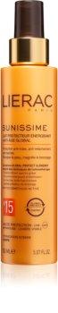Lierac Sunissime Lotion anti-âge énergisante et protectrice SPF 15