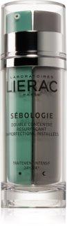 Lierac Sébologie concentrat recuperator în două faze  impotriva imperfectiunilor pielii
