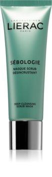 Lierac Sébologie дълбоко почистваща пилинг маска  за кожа с несъвършенства