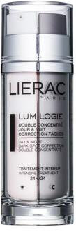 Lierac Lumilogie Aufhellendes Zweiphasen-Konzentrat für Tag / Nacht gegen Pigmentflecken