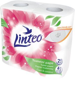 Linteo Care & Comfort Camomile тоалетна хартия 4 бр