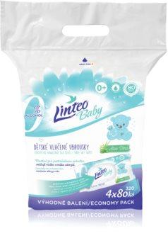 Linteo Baby Pure & Fresh нежни мокри кърпички за бебета големи опаковки