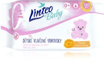 Linteo Baby Soft & Cream нежни мокри кърпички за бебета