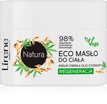 Lirene Natura масло за тяло за подхранване и хидратация