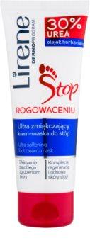 Lirene Foot Care 2 az 1-ben krém és maszk lábakra bőrkeményedés ellen