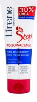 Lirene Foot Care crème et masque pieds 2 en 1 pour peaux calleuses