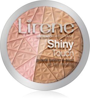 Lirene Shiny Touch bronzer rozświetlający do twarzy