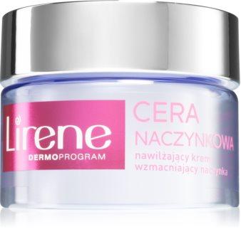 Lirene Capillary Skin krem nawilżający wyrównujący koloryt skóry SPF 20
